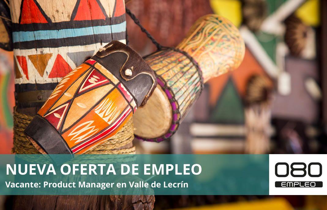 Oferta de empleo product manager en valle de lecrín granada